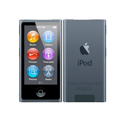 apple ipod nano 16 gb graphit 7g am. Black Bedroom Furniture Sets. Home Design Ideas